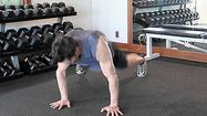 Try this: An exercise for the over-achiever: the 'spinning' push-up