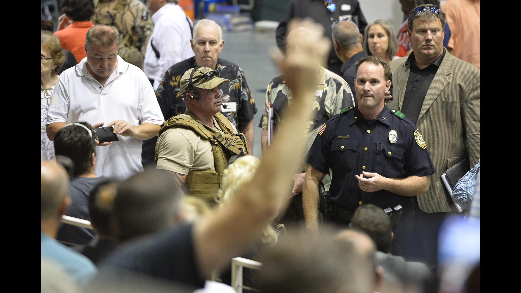 Gunman killed at Muhammad cartoon event was terrorist 'wannabe,' source says