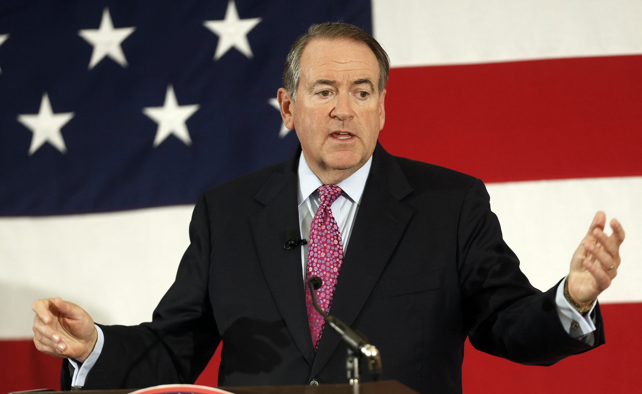 Huckabee to announce White House plans