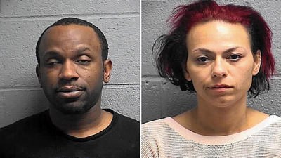 Two charged with methamphetamine dealing