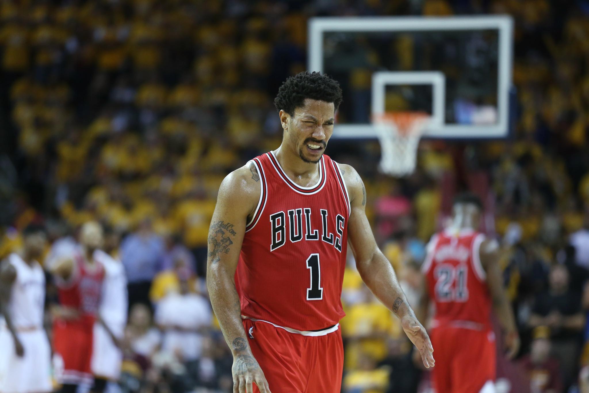 Bulls' Derrick Rose says shoulder is fine