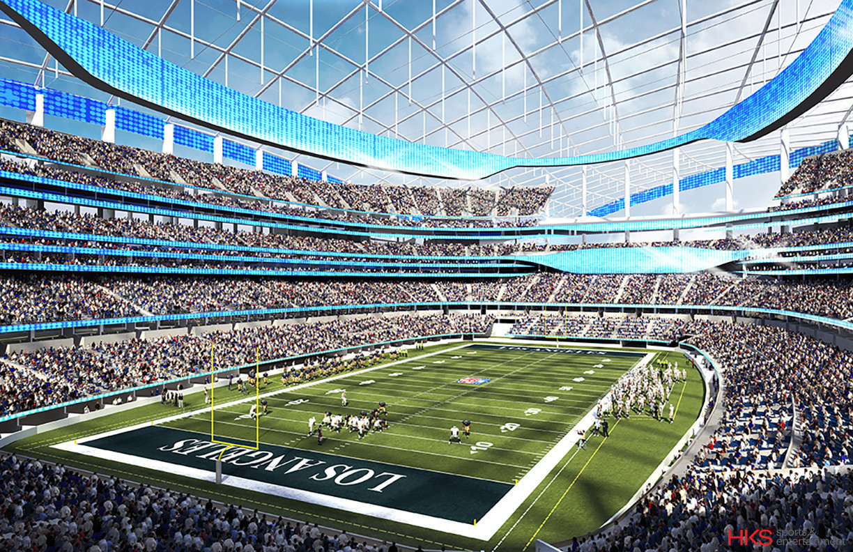 Getting quick approval for L.A.-area football stadiums ...
