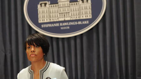 Baltimore mayor seeks Justice Department probe of police, promises body cameras - Baltimore Sun