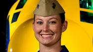 Busting a gender barrier at 370 mph: Severna Park pilot becomes first woman to fly with elite Blue Angels