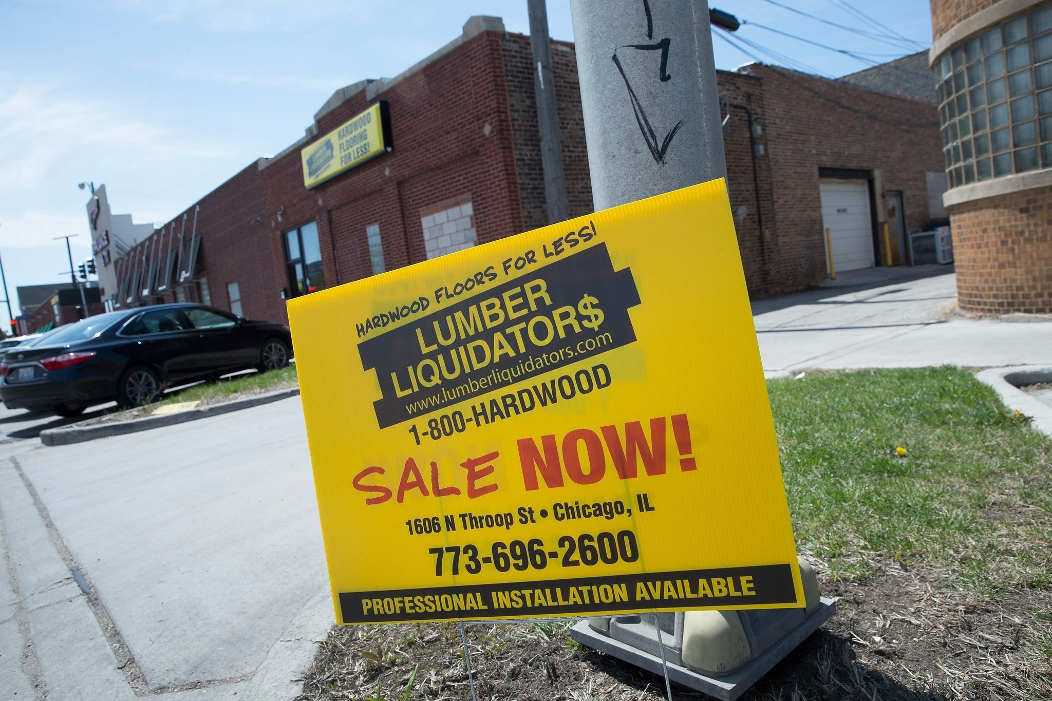 Lumber Liquidators Stops Sales Of Chinese Made Flooring