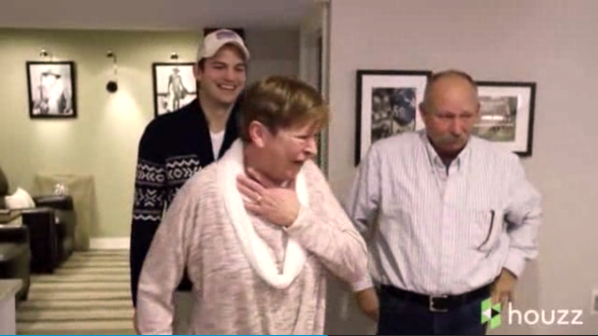 Ashton kutcher surprises his mom with over the top mother 39 s day gift chicago tribune - A dream basement ashton kutchers surprise for his mom ...