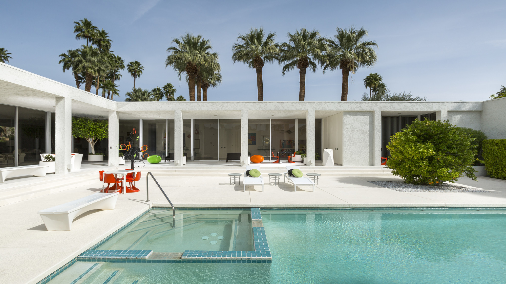 palm springs home design expo home of the day midcentury fortress shines in palm. beautiful ideas. Home Design Ideas