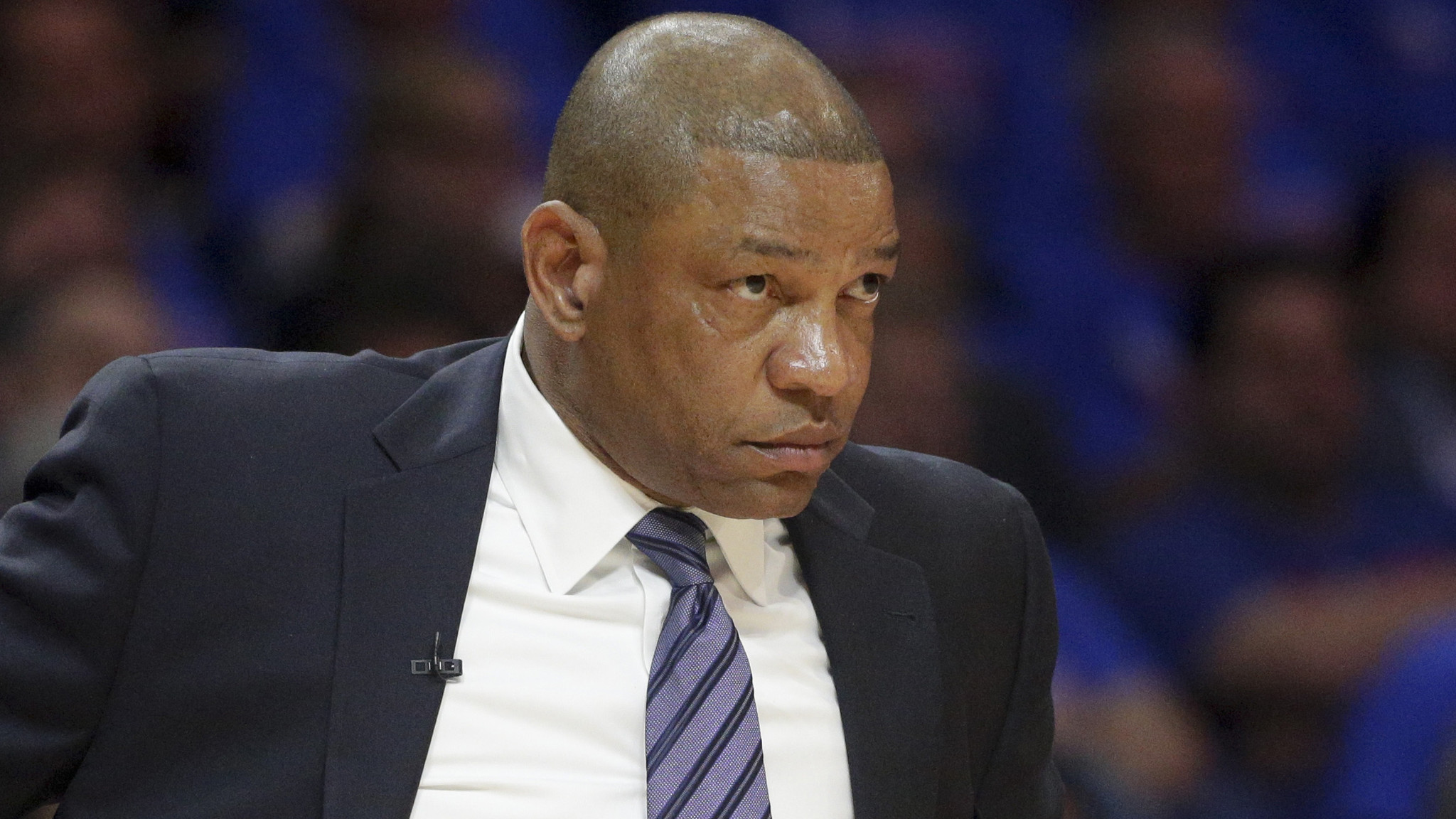 Clippers Doc Rivers was too focused to celebrate son s great game