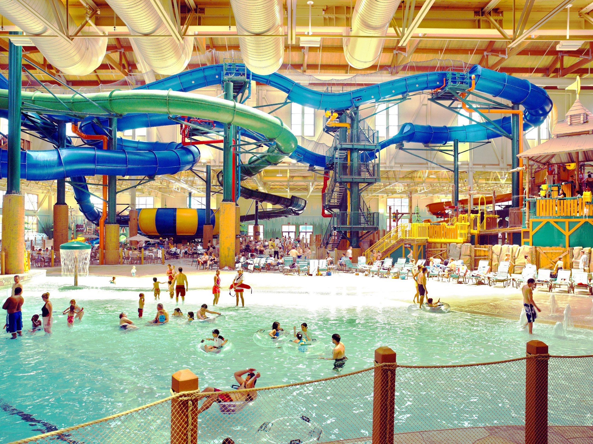 15 places to take the kids in howard county howard county times - Cool Indoor Pools With Slides