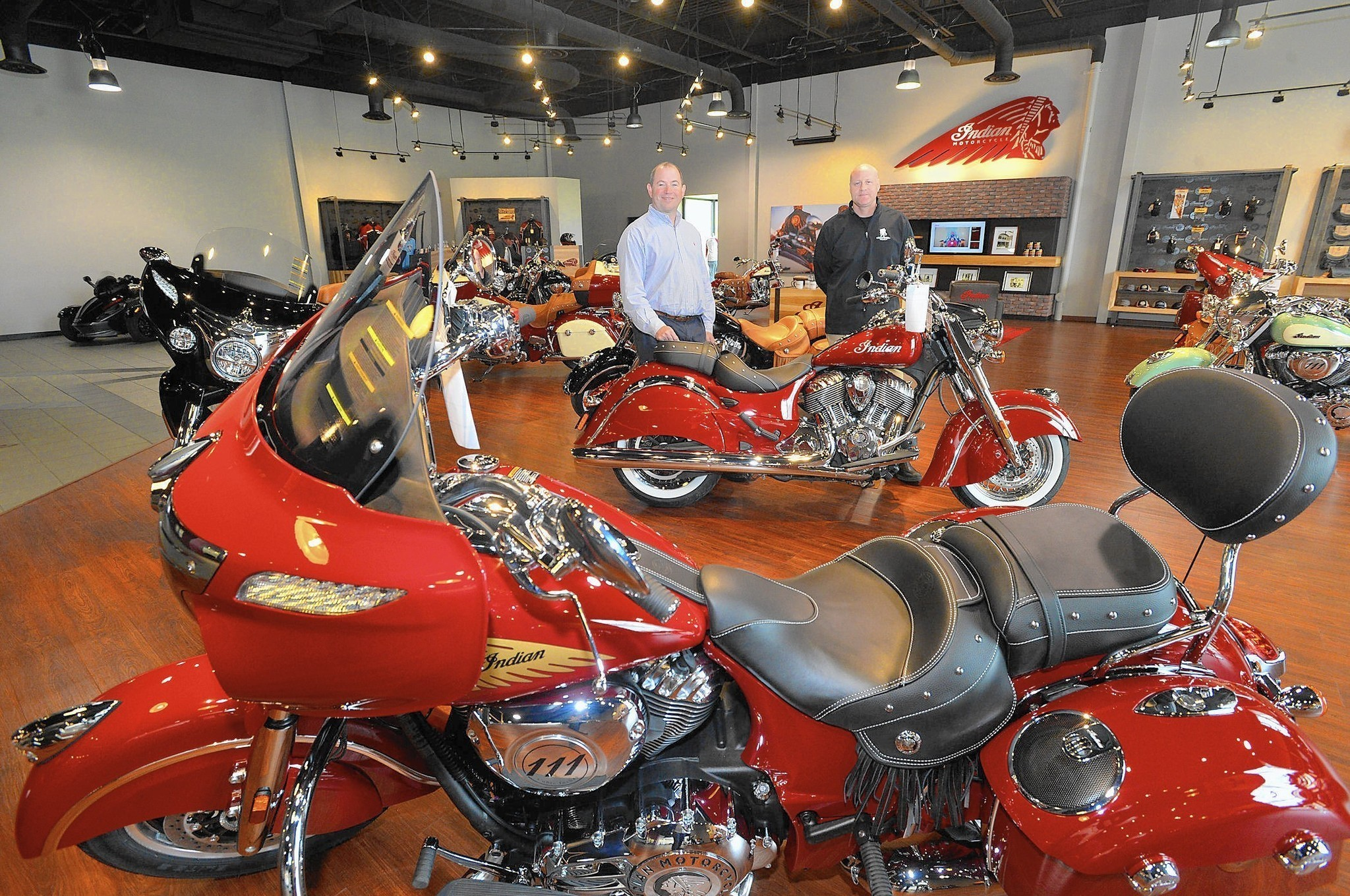 Indian Motorcycle Of Allentown Opens In Center Valley Lehigh