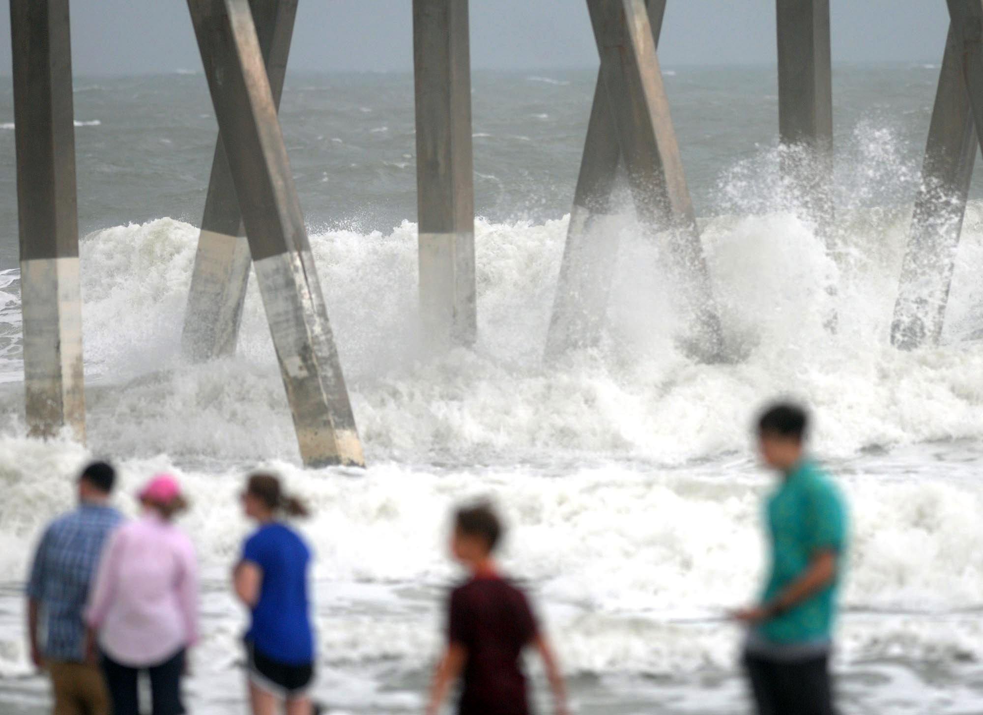 Ana becomes tropical storm as it nears the East Coast
