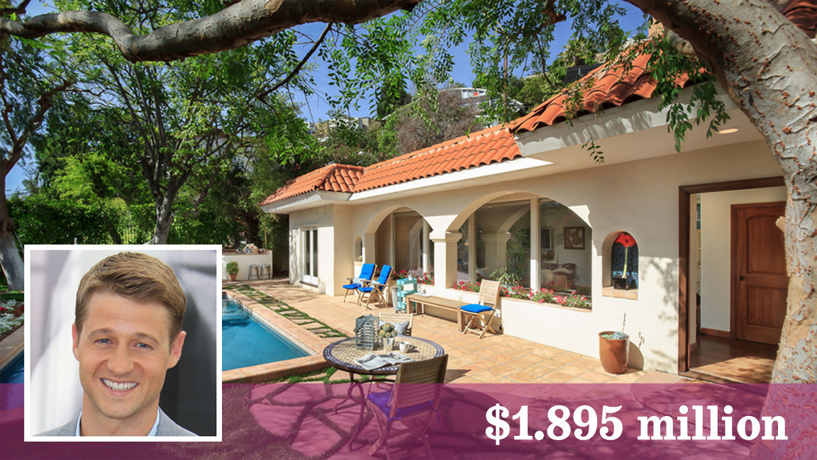 Ben McKenzie house in Hollywood Hills