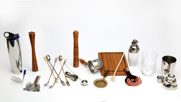 assortment of bar tools and gear