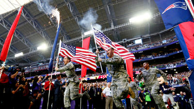 Deals between National Guard and NFL cause a stir