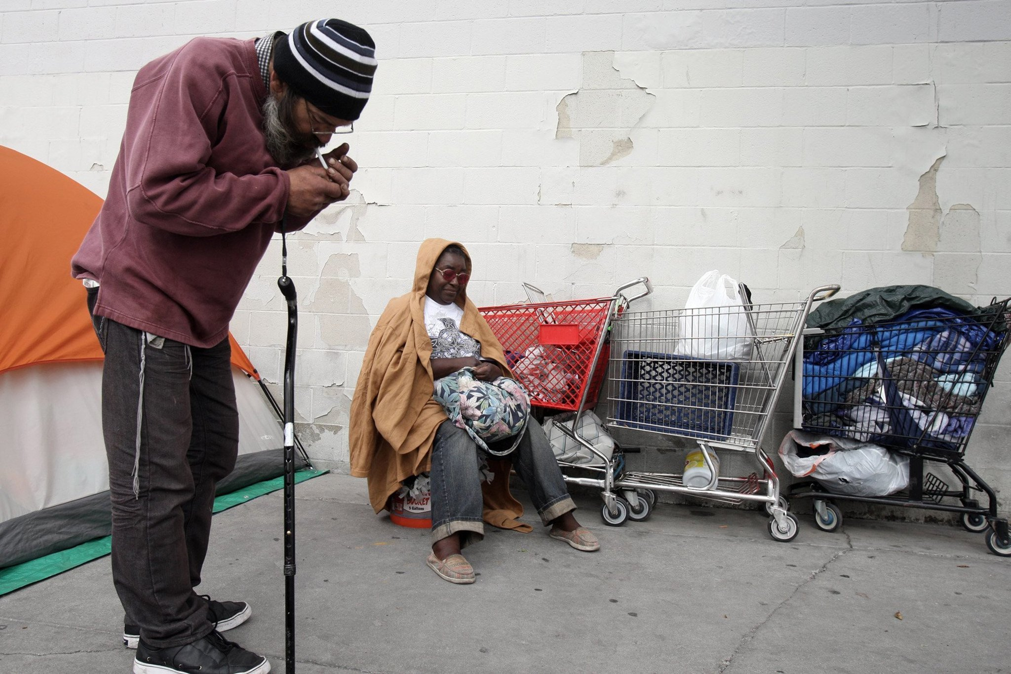 Homelessness up 12% in Los Angeles