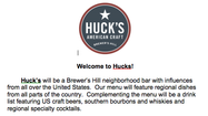 Baltimore Beer Baron: Huck's American Craft coming to Brewers Hill