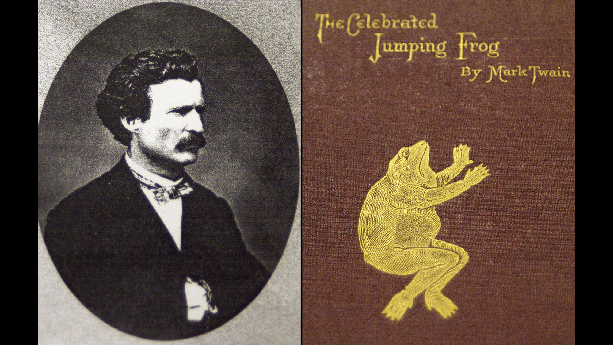 The frog that jump-started Mark Twain's career