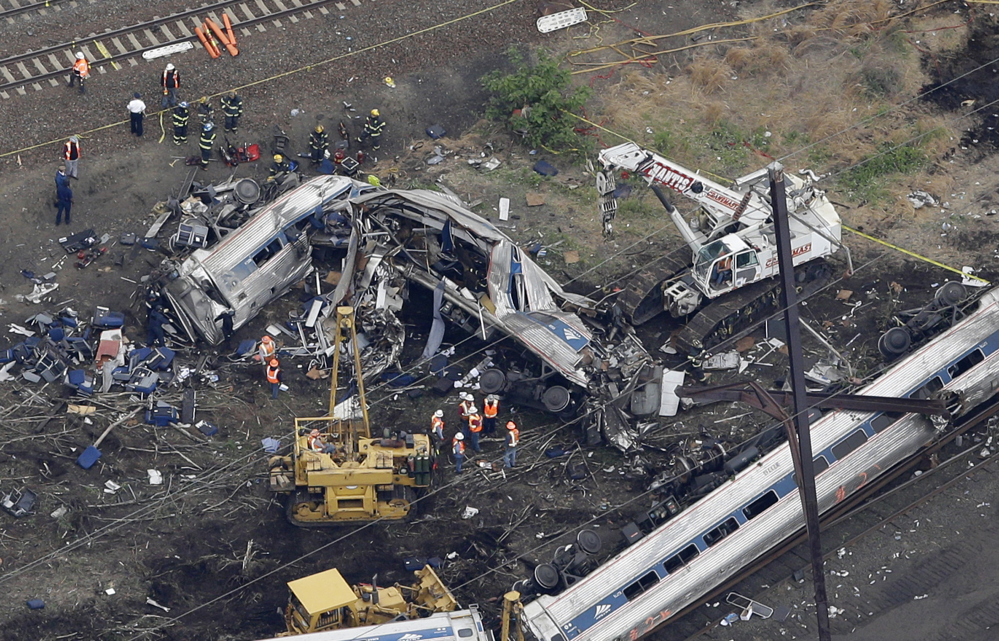 Amtrak Crash Why Positive Train Control Is A Negative For