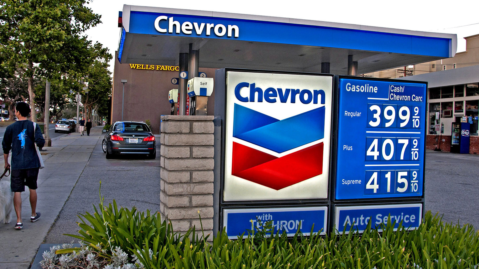 Gas Prices In California >> Four-dollar gasoline returns to the L.A. area - LA Times