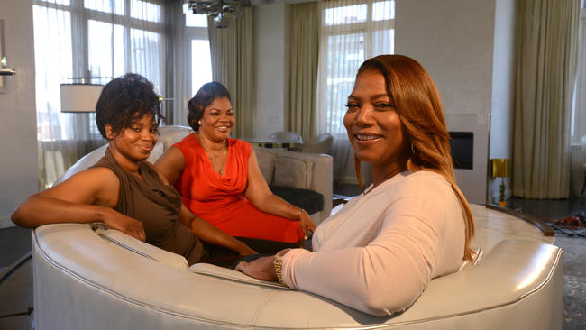 Dee Rees, Mo'Nique and Queen Latifah