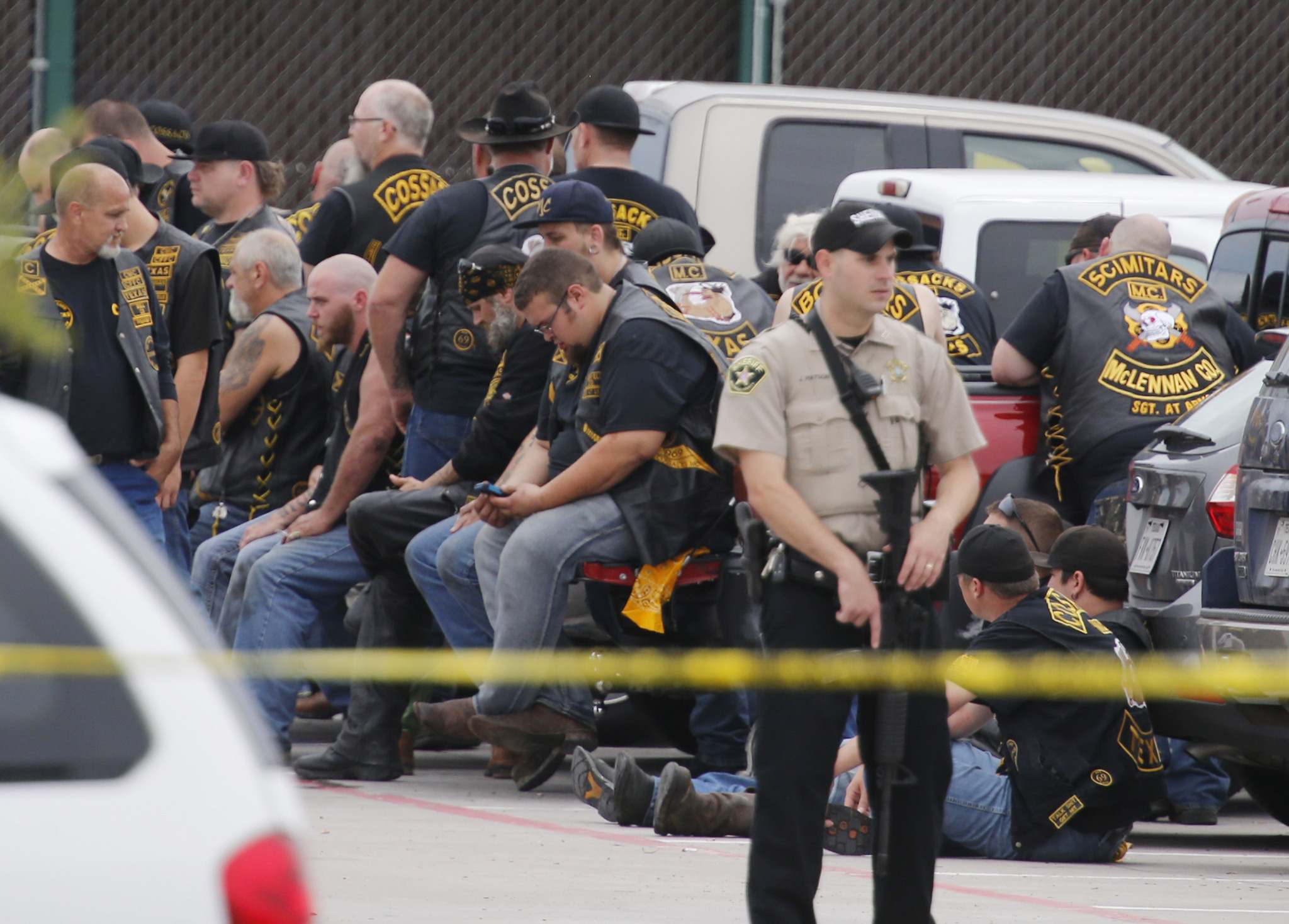 Charges filed against 170 motorcycle gang members in Texas