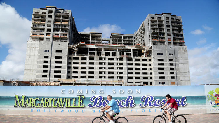 Margaritaville Hollywood Beach Resort opened in fall 2015