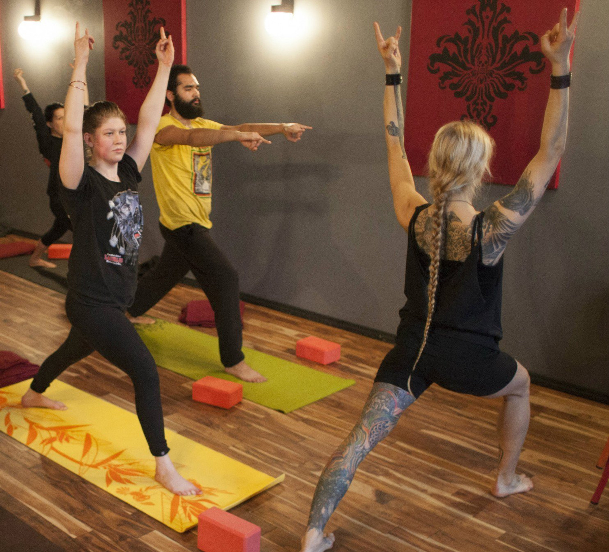 How Death Metal Cured My Hatred For Yoga