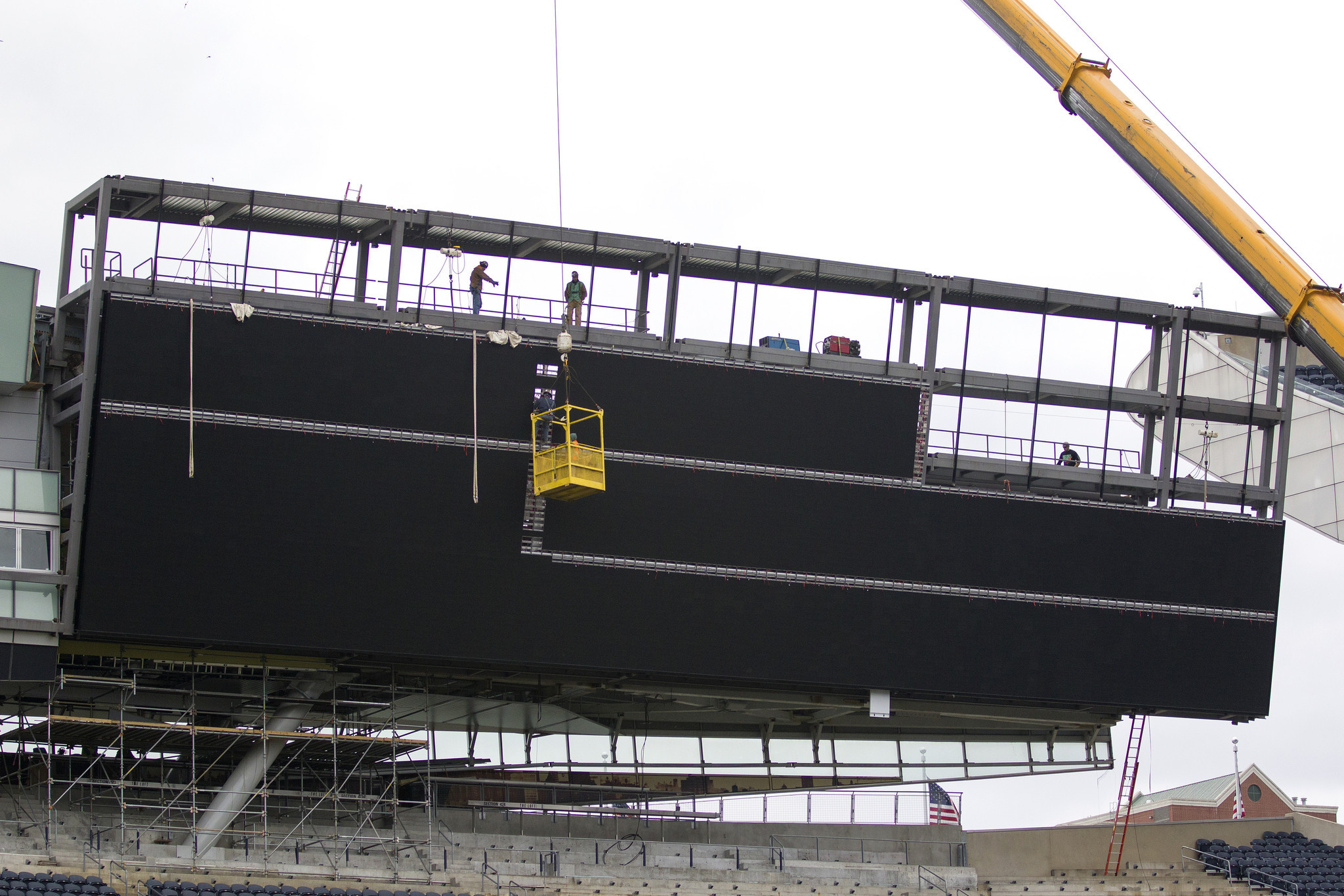 Soldier Field operators shed more light on new video boards, Bears Den bar