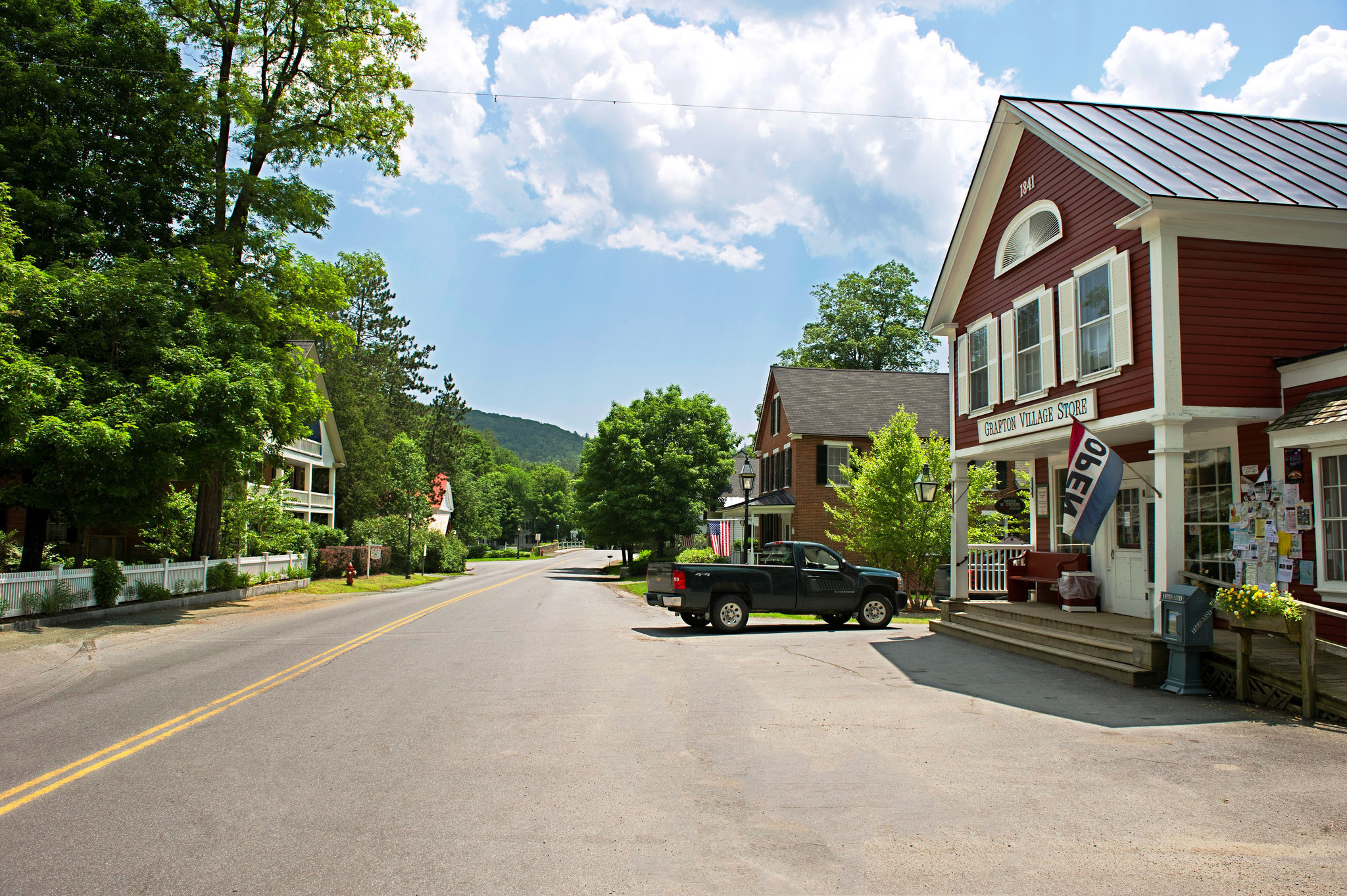 If you could climb into a postcard it should be vermont 39 s for The grafton