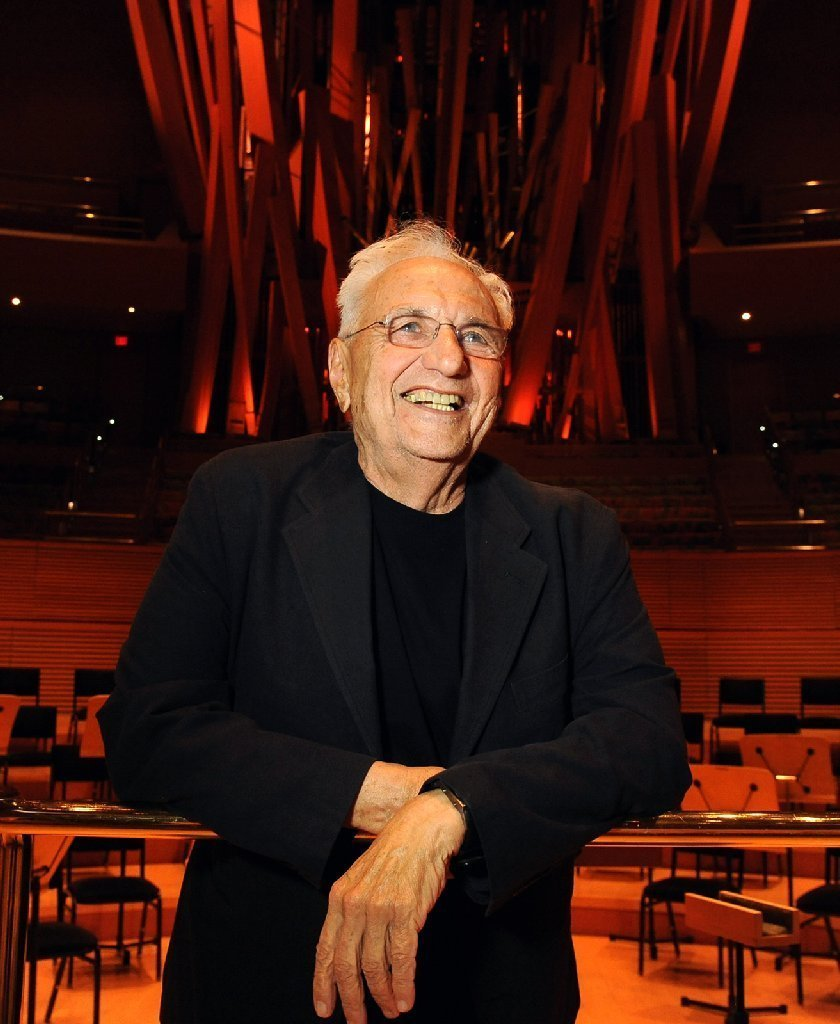 frank gehry wins getty trust 39 s annual career achievement. Black Bedroom Furniture Sets. Home Design Ideas