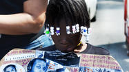 Freddie Gray March to FOP 3 in Hampden in Photos