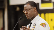 Cleveland police chief talks at community meeting