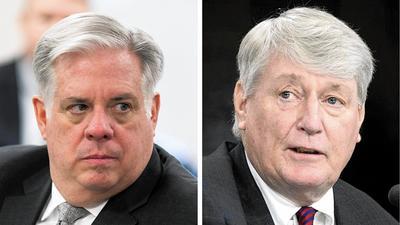 Hogan, Busch work to put feud behind them