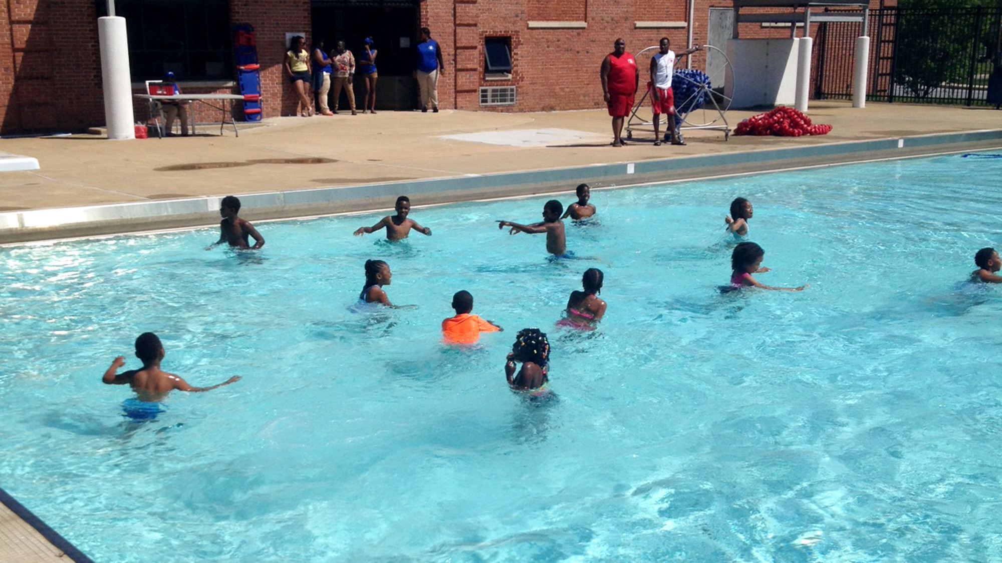 Pool season begins with big splash at cherry hill pool for Pool show lyon