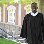After time spent homeless, new McDaniel graduate perseveres, earning Bates Prize