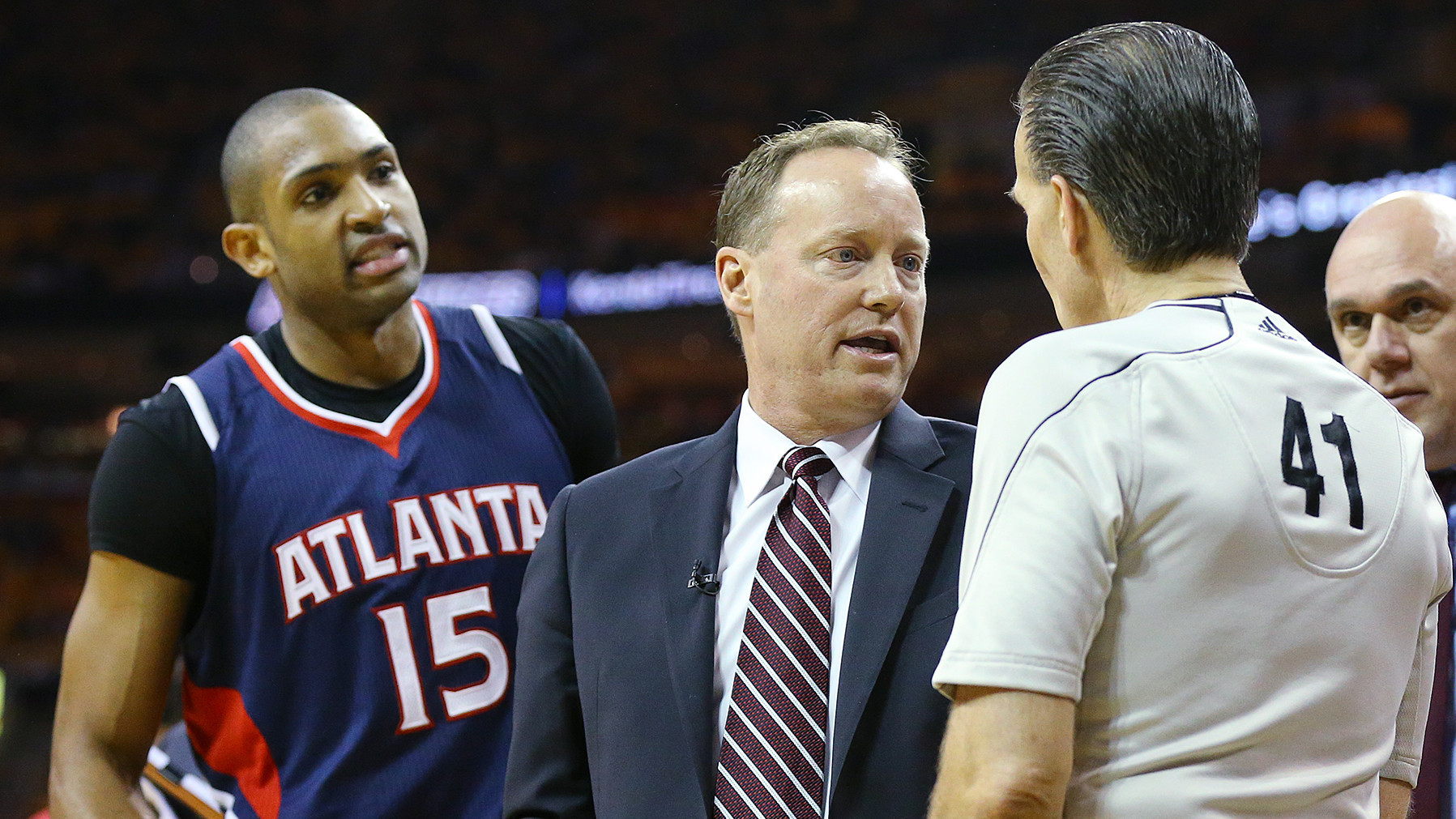 NBA defends decision to eject Al Horford in Hawks' loss to Cavaliers