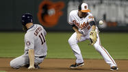 Orioles fall to Astros as offensive woes continue