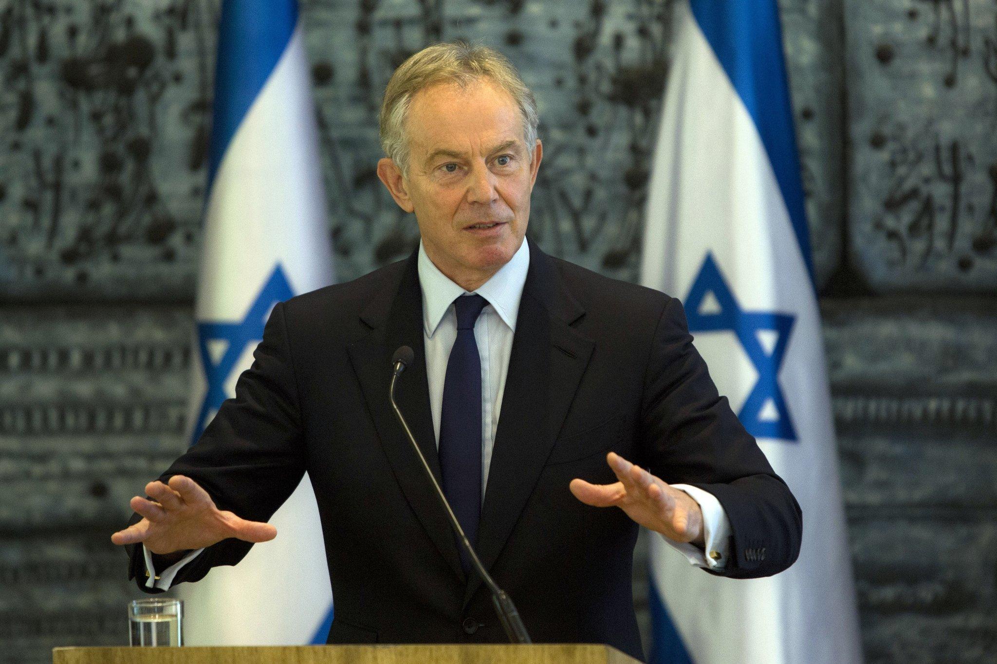 Britain's Tony Blair resigns as U.N. Middle East envoy