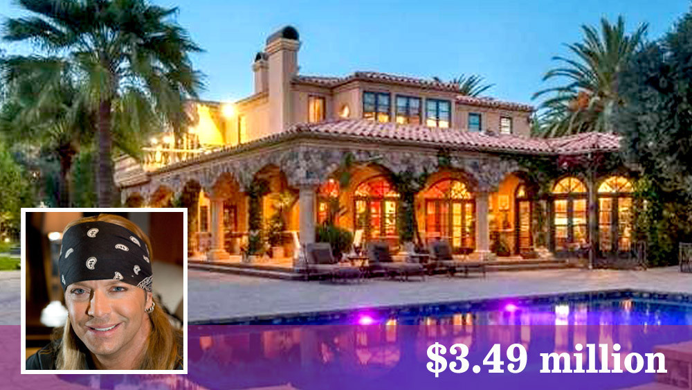 Rocker Bret Michaels buys a fancy place with elbow room in Westlake ...