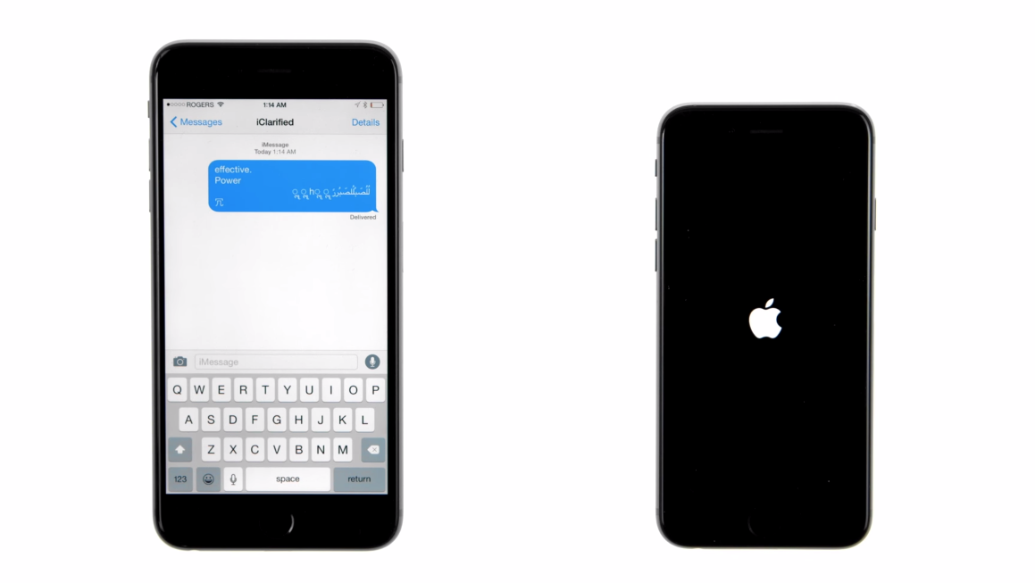 This Text Message Can Crash Any iPhone