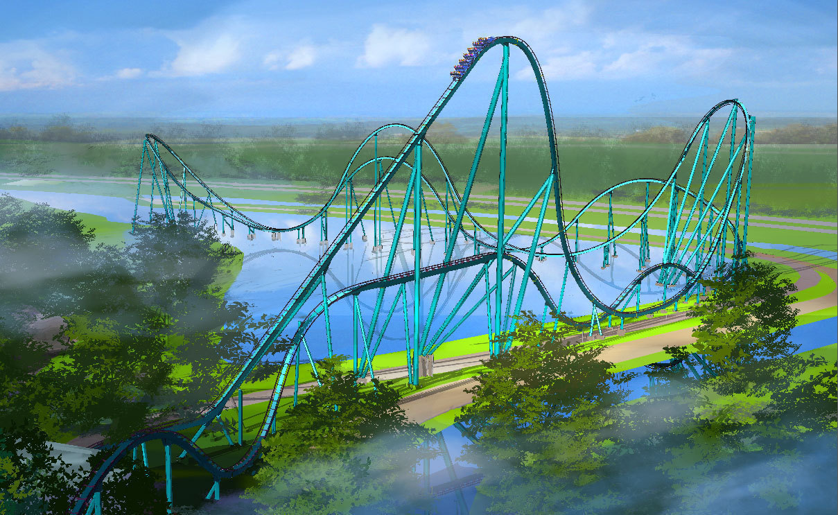 pictures central florida s fastest roller coasters orlando sentinel