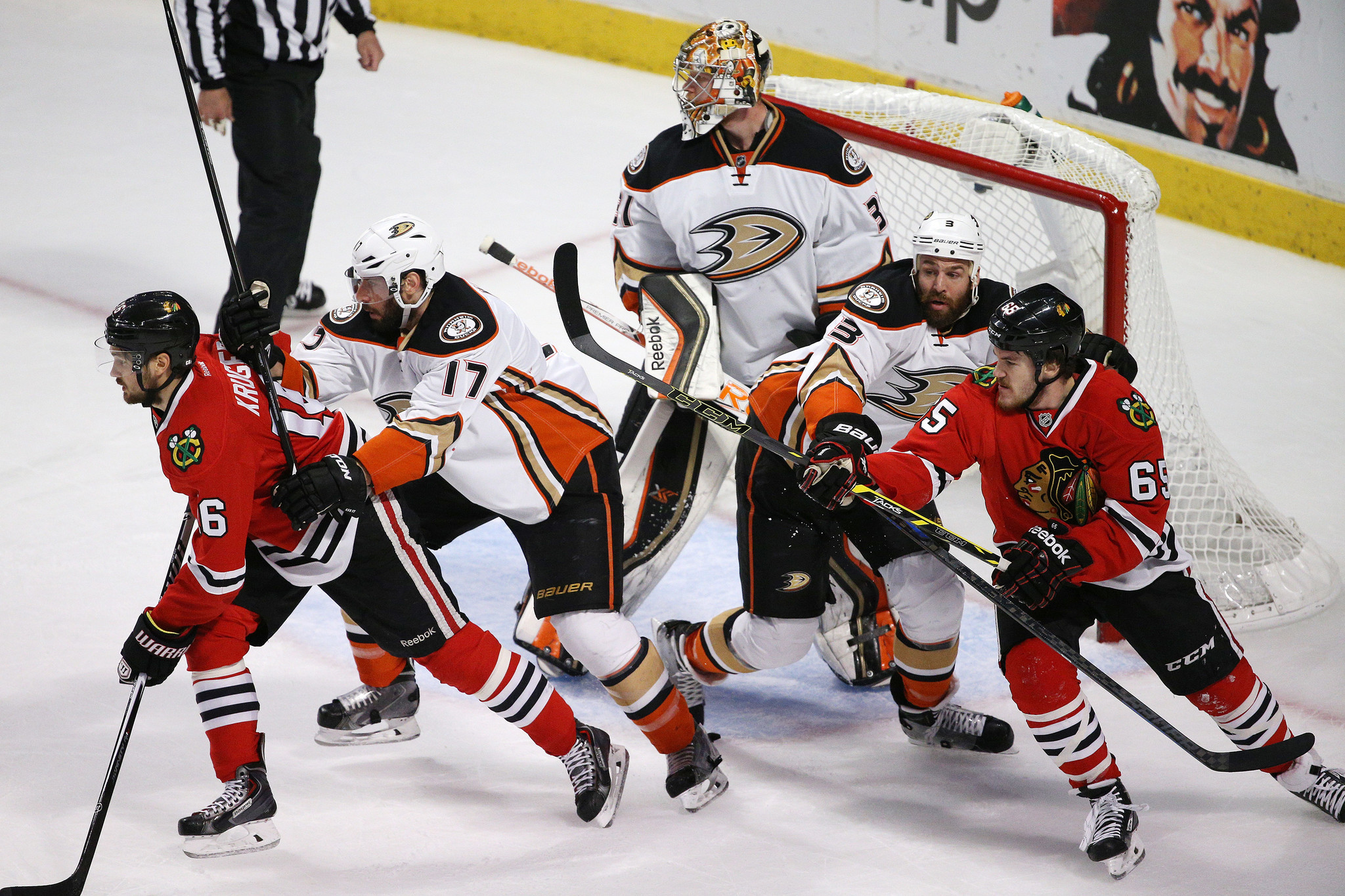 Game 6: Blackhawks Vs. Ducks