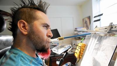 Creative process: Mouth artist finds joy through art