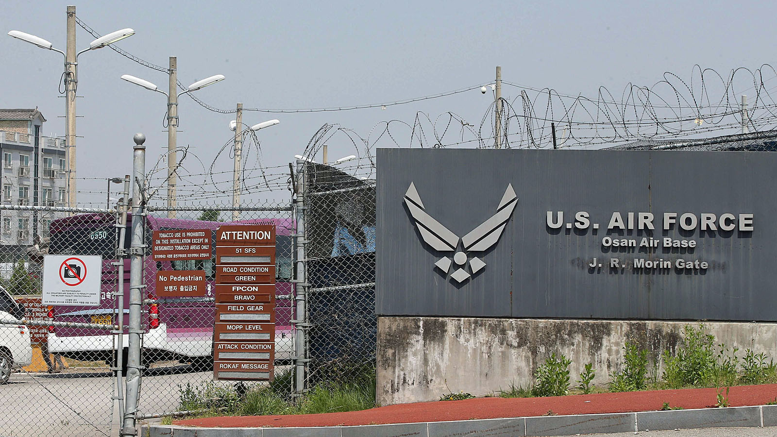 People Treated After Armys Accidental Anthrax Shipments LA Times - Us army bases in korea map