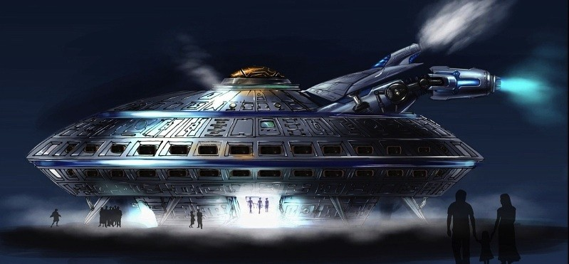 Will A Ufo Themed Hotel Land In Baker Calif See The