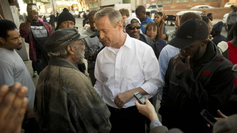 Martin O'Malley has a Race and Police problem.