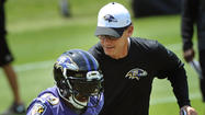 Marc Trestman looks busy with offense in first minicamp with Ravens
