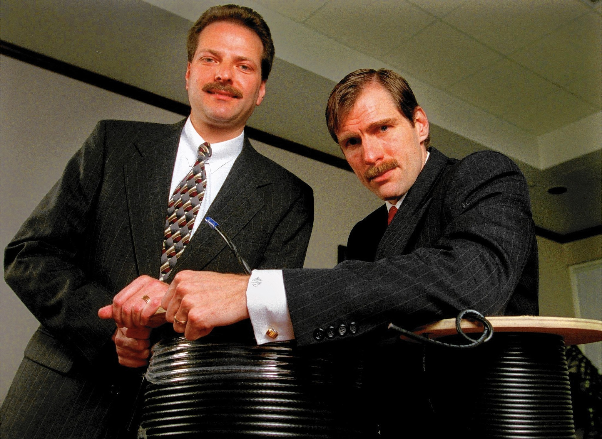 Broadcom's co-founders built a behemoth as a formidable team