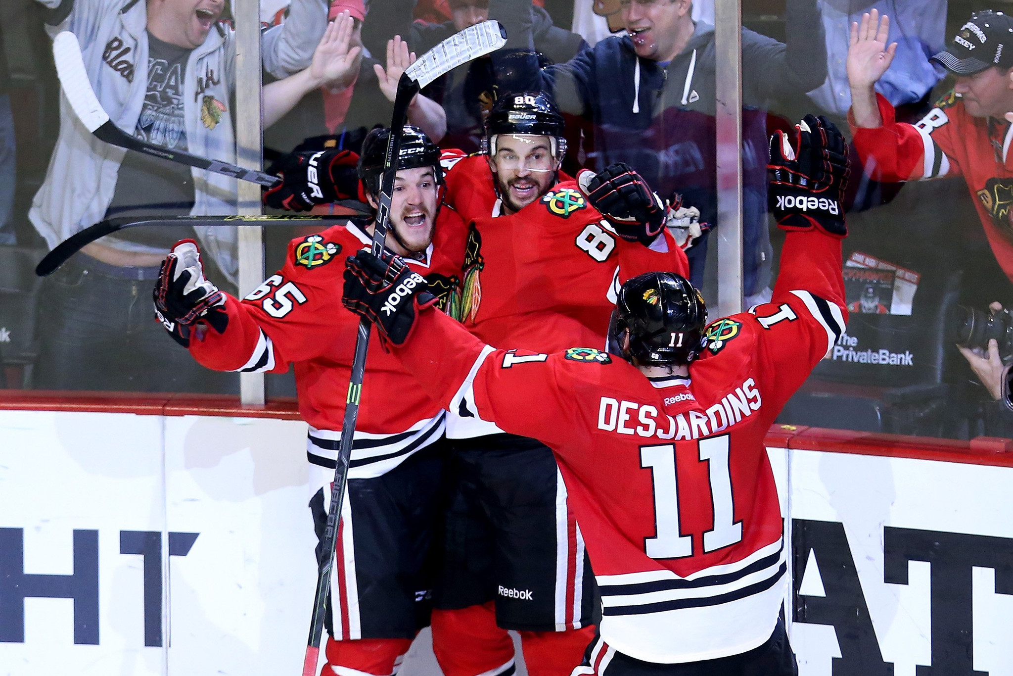 Blackhawks are embracing the pressure of a Game 7 against the Ducks