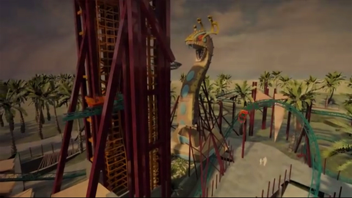 Cobra 39 S Curse Roller Coaster Coming To Busch Gardens Tampa Chicago Tribune